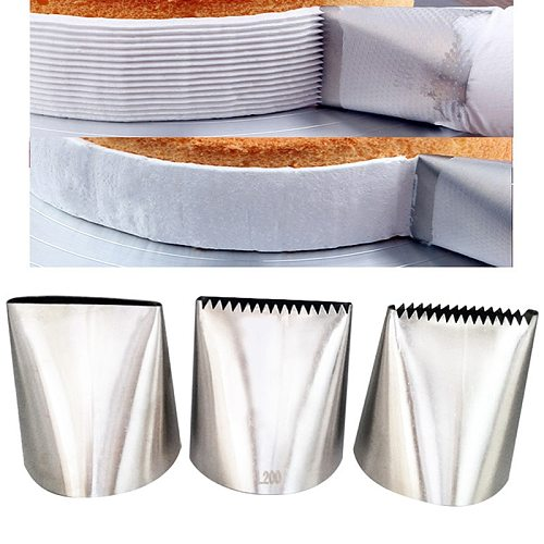 Big 6mm Basket Weave Cream Stainless Steel Tips Icing Piping Nozzles Cake Decor