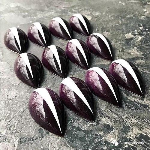 New PC Chocolate Mold DIY Baking Mold 21 Hole Diamond Love Candy Ice Cube Mold Creative Cake Decoration Tool Baking Tool