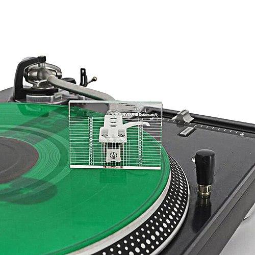 LP Vinyl Record Player Measuring Phono Tonearm VTA/Cartridge Azimuth Ruler Balance Cartridge Azimuth Ruler Headshell Turntable