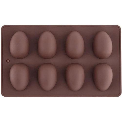 8 Easter Egg Shape Cake Mold Silicone Chocolate Baking Decoration ToolsDIY Soap Mold Craft Gifts Kitchen Accessories Baking Mold