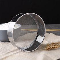 15cm-60 Mesh Ultra-fine Flour Sieve Mesh Stainless Steel Flour Sifter Strainer Powder Rice Sieve Baking Tool Kitchen Accessories