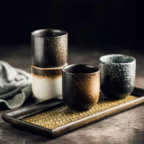 150/180ml New Coffee cups Ceramics mugs Beer Tea Mug Whiskey Glass Drinkware cup Ceramic Latte Specialized coffee