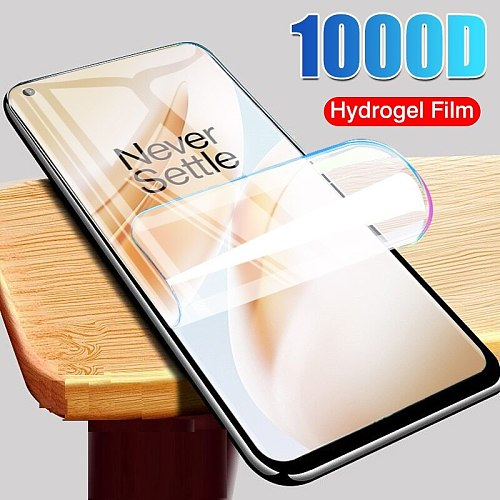 Hydrogel Film For Oneplus 7 Pro 7T 6 6T 5 5T Screen Protector For Oneplus 8T 8 Lite Protective Film Not Glass