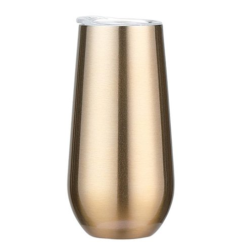 Swig Wine Cup Champagne Beer 6oz 12oz With Lid Termos Tumbler Swig Stemless Rose Gold Stainless Swig Tumbler Insulated Thermos