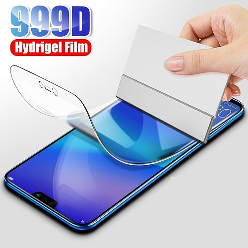 Protective Hydrogel Film For Huawei Honor 10i 20 P20 P30 P40 Pro Mate 40 Pro 20 Lite Psmart 2019 Screen Protector Not Glass