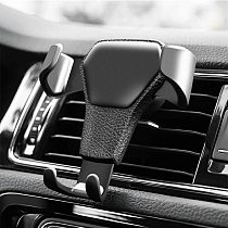 Gravity Car Holder For Phone Air Vent Clip Mount Mobile Cell Stand Smartphone GPS Support For Huawei For Xiaomi