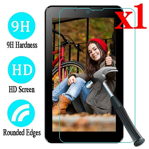 A+7 Premium Tempered Glass Screen Protector Film Guard LCD Shield For 7  Oysters T72X 3G / Oysters T74HMi 4G Tablet