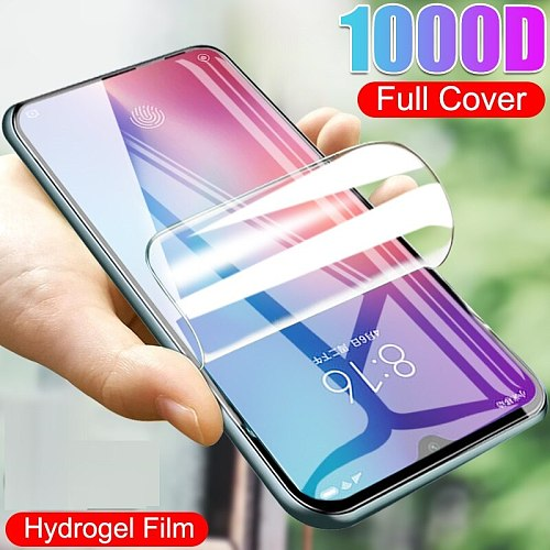 Full Coverage Screen Glass For ZTE Blade A71 Hydrogel Film For ZTE Voyage 10 Screen Protector Protective Film Not Glass