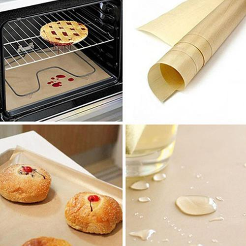Non Stick Pastry Baking Mat Oil-proof Paper Kitchen Oven Liner Pad Heat Resistant BBQ Grill Paper Sheets for Kitchen Tool Gadget