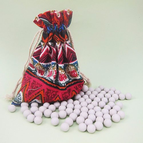New Ceramic Baking Beans Pie Baking Beads 0.33 Pound Pie Weights With Storage Bag Food Grade Ceramic Baking Tools
