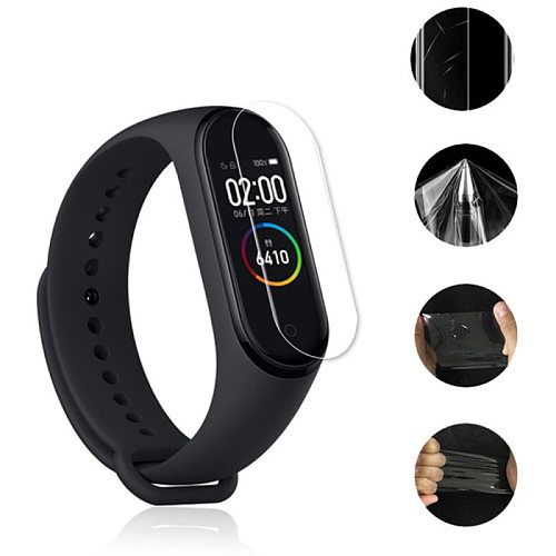 1/2/3/5Pcs For Mi Band 5 Screen Protector Film For Miband 5 Smart Wristband For MiBand 5 Screen Protector Not Tempered Glass