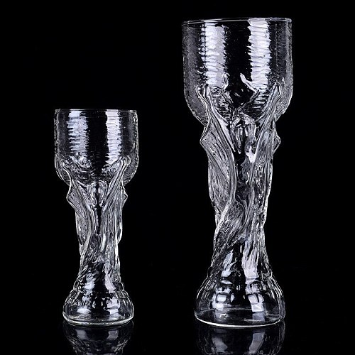 World Football Cup Champion Trophy Exceed Tuba Pilsner Wheat Beer Glass High-capacity Wine Glasses Verre Cocktail Cup Copas Boda
