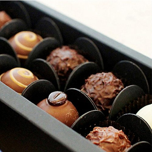 50pcs Chocolate Wrappers Chocolate Paper Candy Cups Tray Paper Dessert Chocolate Base Packaging Liners Baking package