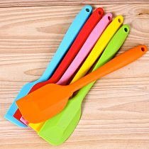 28.5cm Large Size Silicone Spatula Cream Butter Mixing Batter Scraper Kitchen Accessories Baking Tools for Cakes