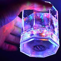 LED Light Up Color Change Water Activated Beer Octagonal Cup Mug Party Props LED Glowing Cup Beer Cup Coffee Mug Water Mug glass