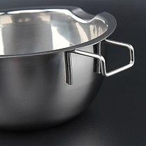 Stainless Steel Universal Boiler Insert Chocolate Fondant Caramel Melt Bowl Butter Pot Pan Baking Cheese Heating OW