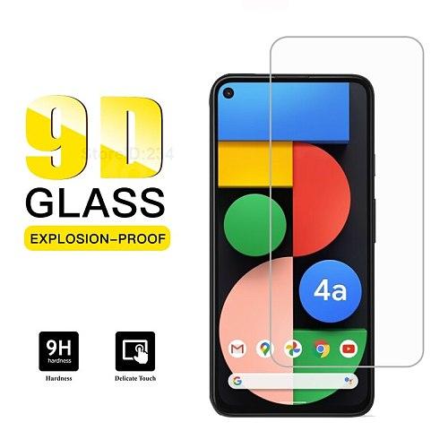 For GOOGLE PIXEL 4A 5G Tempered Glass 9D Protective Film Screen Protector For GOOGLE PIXEL 4A 5G G025H G025L Pelicula de vidro
