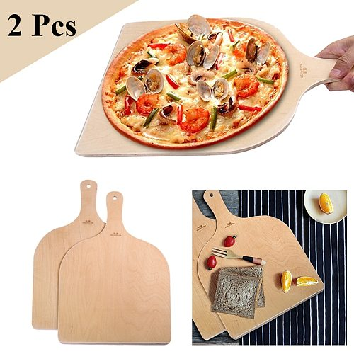 Pizza Paddle Spatula Pizza Shovel Peel Cutting Board Kitchen Pizza Tray Plate Bakeware Pastry Tools Accessories