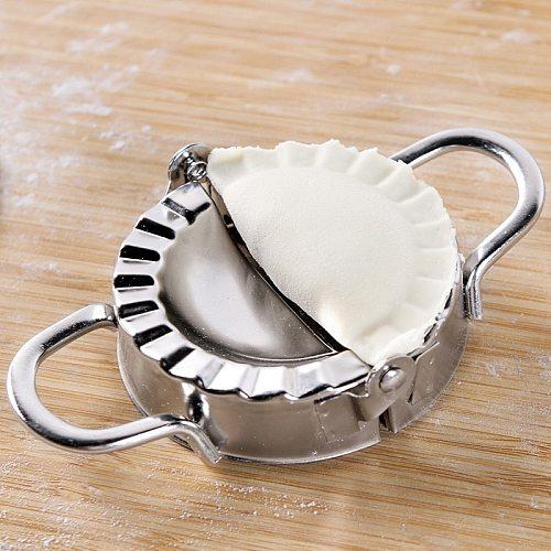 UPORS Stainless Steel Dumpling Maker Eco Friendly Dough Cutter Pie Ravioli Dumpling Mold Dough Press Pack of 2