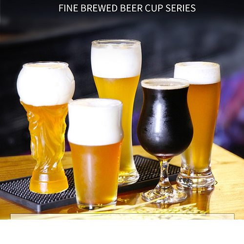 Beer Steins Wine Cups Cool Drink High-quality Creative Beer Glasses Fresh Juice Cola Cocktail Whisky Glass