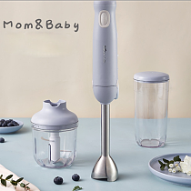 300W Multifunctional Hand-Held Electric Food Blender Stirring Rod Baby Supplement Machine Kitchen Tool Bear/JBQ-B50M2