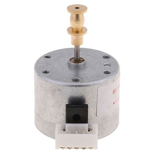2021 New EG530SD-3F DC5-12V 3-Speed 33/45/78 RPM Metal Turntables Motor for Record Player