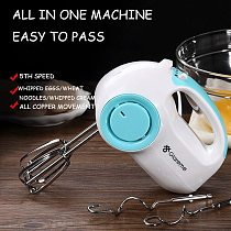 Multifunction 5 Speed Mini Mixer Electric Food Blender Handheld Mixer Egg Beater Automatic Cream Food Cake Baking Dough Mixer