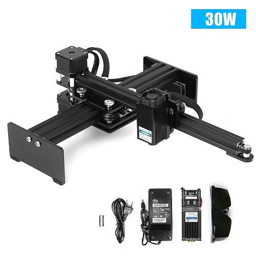 40w Laser Engraving Machine Desktop Laser Engraver Printer Portable Carver DIY Laser Logo Mark Printer Working Area 170*200mm
