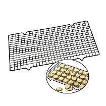 Cake Cooling Rack Nonstick Metal Cake Cooling Grid Rack Net Stainless Steel Wire Grid Cooling Tray Barbecue Cookie Holder