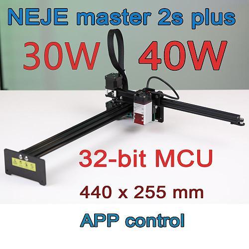 NEJE Master2S Plus 30/40W Professional Large Area Laser Cutting Machine, Laser Engraving Machine,Lightburn,Bluetooth App Control