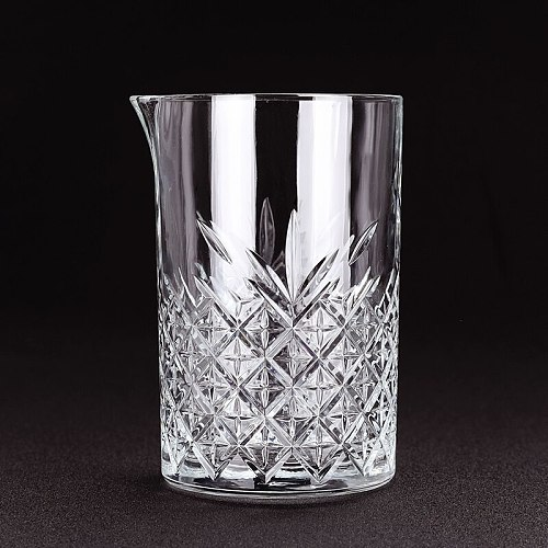 700ml Glass Studded Cocktail Mixing Glass Bar Tools