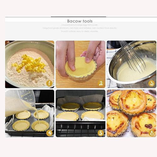 New 50pcs Silver Aluminum Cupcake Egg Tart Mold Cookie Pudding Mould Makers Cupcake Liners Baking Pastry Tools Jelly Mould #w
