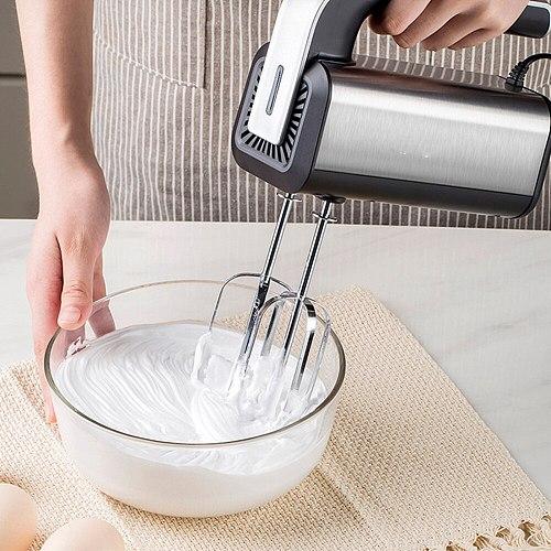 5 Speeds 500W High Power Electric Food Mixer Hand Blender Dough Blender Egg Beater Hand Mixer For Kitchen 220V