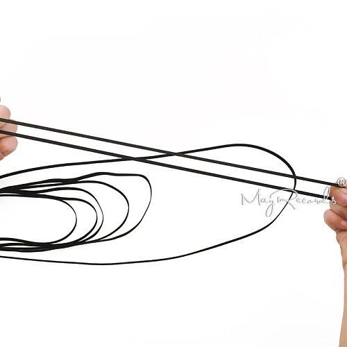 1PCS Rubber Belt Replace Turntable Phono, Tape , CD Plattenspieler Drive Belt 235mm