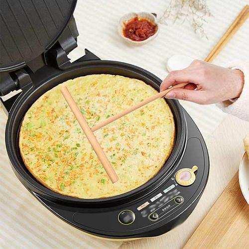 1 Pcs Wooden Rack Spreader Crepe Maker Pancake Batter Wooden Shelf Spreader Stick Home Kitchen Tools Kit DIY Use Pie Tools