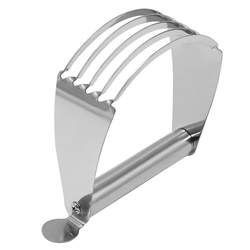 Kitchen Gadgets Baking Tool Anti Slip Pastry Cutter Flour Mixer Dough Blender Confection Chef Professional Stainless Steel