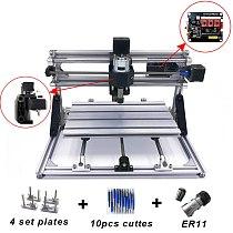 CNC 3018/2418 DIY Mini Engraving Machine Pcb Milling Machine Wood Router Laser Engraving CNC Router GRBL Control Craved Metal
