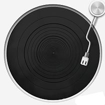 Anti-vibration Silicone Pad Rubber LP Antislip Mat for Phonograph Turntable Vinyl Record Players Accessories A6HE