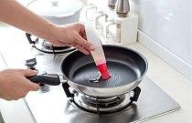1PC Silicone Baking Brushs Liquid Oil Pen Cake Butter Bread Pastry Brush Baking Tool BBQ Utensil Safety Basting Brush LB 019