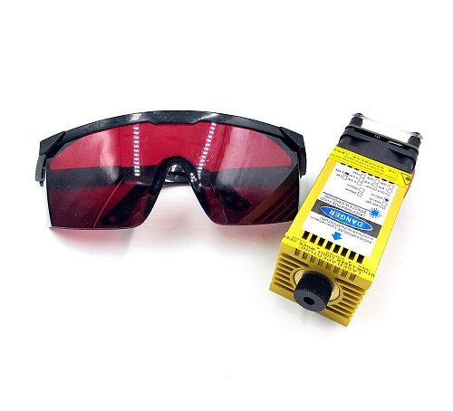 500MW 2.5W 5.5W 15W 450nm Focusing Blue CNC Laser Head Laser Engraving Module