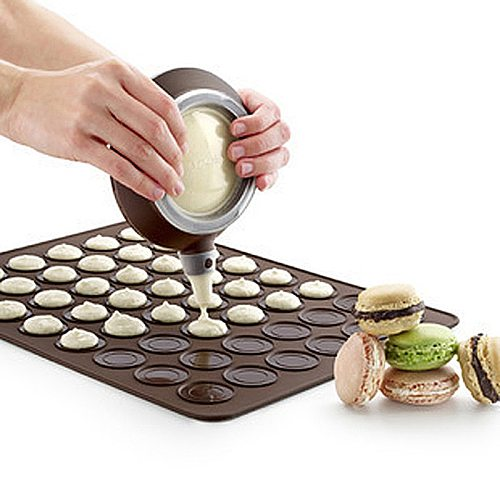 Silicone Macaron Pastry Oven Baking Mould Sheet 30-Cavity DIY Mold Baking Mat Bakeware Kitchen,Dining & Bar Accessories Tools