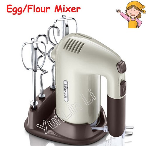 Household Egg Mixing Tools Handheld Electric Whisk Mixer Food Egg Stirring Blender DDQ-B01A1