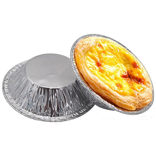 Kitchen Tool Molds 100pc Cookie Muffin Egg Tart Fresh Disposable Good Baking Mold Tin Foil Cake Cup Professional #42