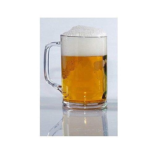 Polycarbonate Pilsner Beer Glasses MUG Set of 40 PREMIUM  BEST QUALITY Unbreakable Reusable Barware Drinkware 470 ml. / 16 oz,
