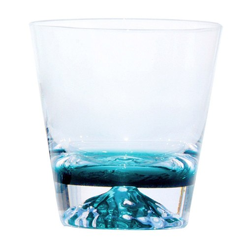 Ink Blue Iceberg Cup Lemon Glass Drink Cup Japanese Creatived Snow Mountain Glass AUG889