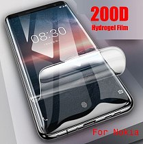 Full Cover For Nokia 5.1 Front Hydrogel Film Screen Protector Ultra Thin Explosion-proof  HD Protective Film Not Glass