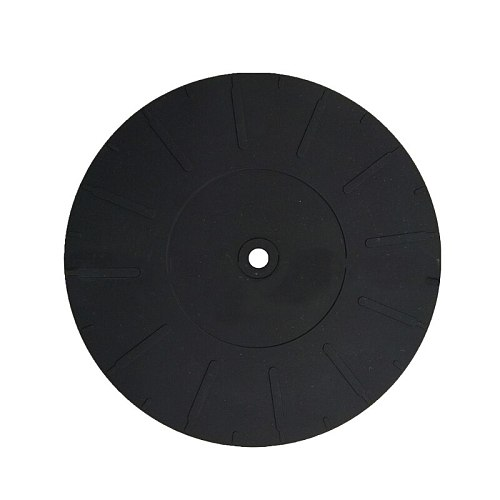170mm Anti-vibration Silicone Pad Rubber LP Antislip Mat for Phonograph Turntable Vinyl Record Players Accessories