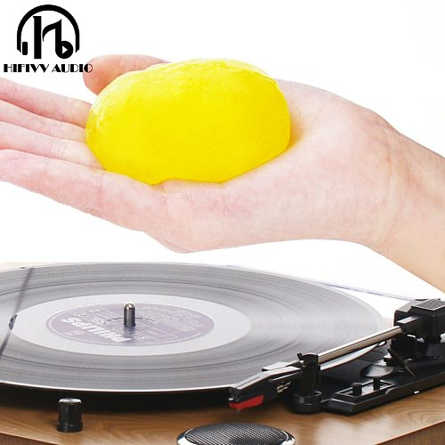 Super Clean Slimy Gel for LP Vinyl Record Keyboard Clean dust Soft Rubber Turntable Vinyl Cartridge Magic Dust Cleaner Compound