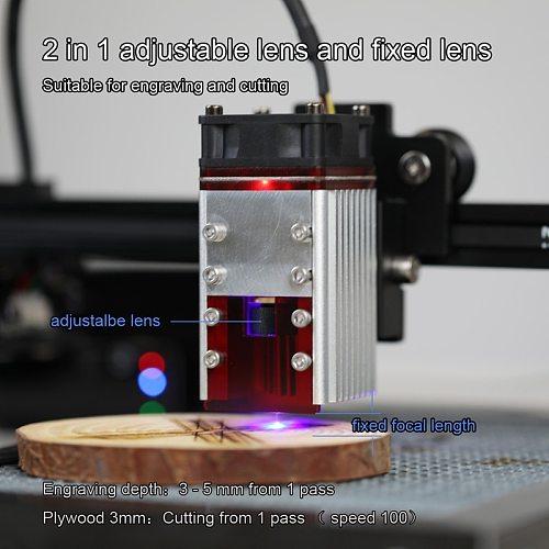 HOT NEJE 30W Module Kit 450Nm TTL Module for NEJE Engraver Wood Cutting Tool 1Set