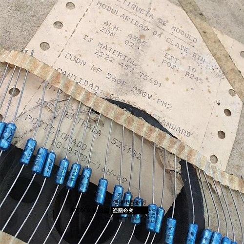 Original new 100% 560pf 250V 1% fever audio tin foil electrodeless capacitor (Inductor)
